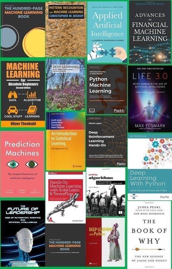 test Twitter Media - Top #AI Books for reading in 2019: https://t.co/Ij9I7SzR4d  —————— #BigData #DataScience #MachineLearning #DeepLearning #ReinforcementLearning #Algorithms #DataScientists #Coding #Python #BeDataBrilliant https://t.co/82w4xri524