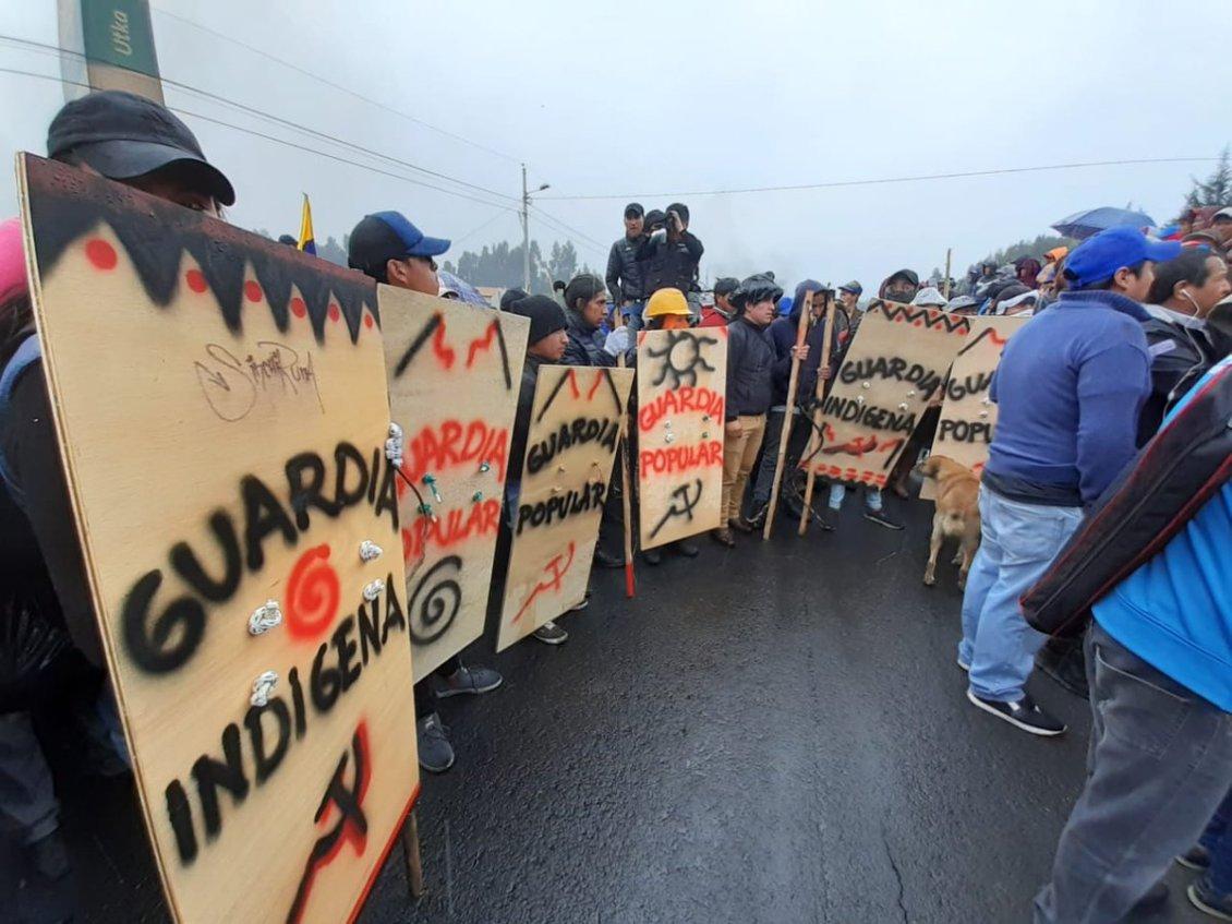 Ecuador: indígenas toman Quito y ponen en jaque al gobierno de Moreno-VerdadDigital.com-
