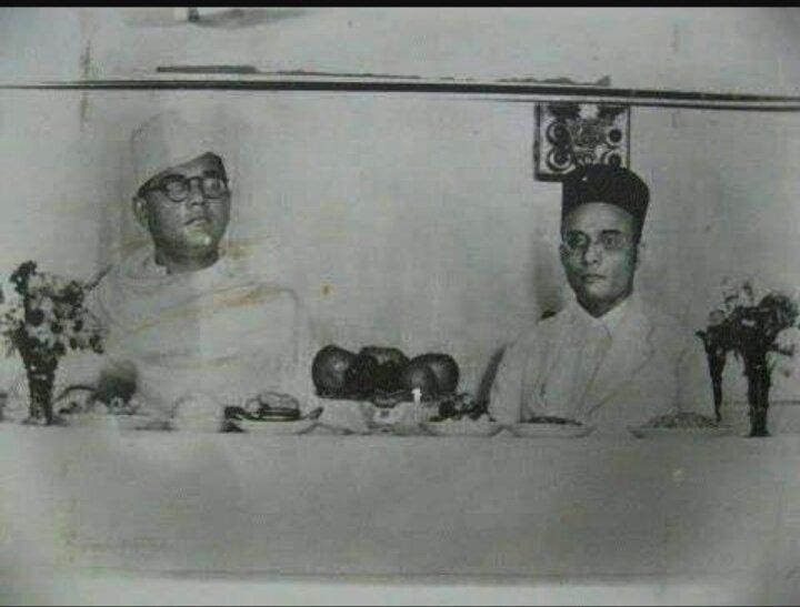 """Naina ?? on Twitter: """"When Bose met Savarkar in 1940,it is ..."""