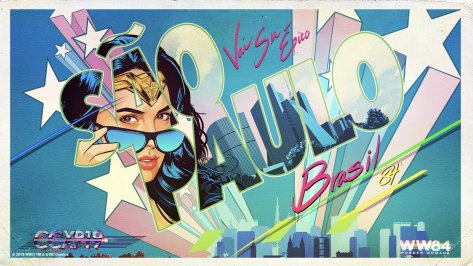 Nieuwe Wonder Woman 1984 banner voor CCXP Brasil