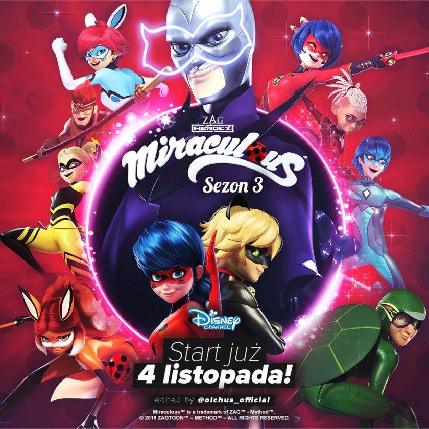 Już 4 listopada na polskim Disney Channel odbędzie się długo wyczekiwana premiera 3 sezonu serii! 🇵🇱🐞 Zapraszam was serdecznie do filmu Olchusia, w którym uzyskacie więcej informacji na ten temat! Pamiętajcie, że oglądając odcinki z legalnych źródeł, wspieracie twórców serii! ❤️