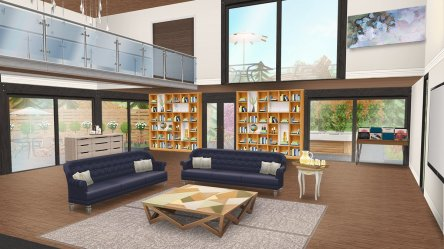 The Sims FreePlay on Twitter: ✨ Make an Open Plan inspired house template 🔨 Our current Architect Homes theme is Open Plan Living! Show us your version of a space with minimal