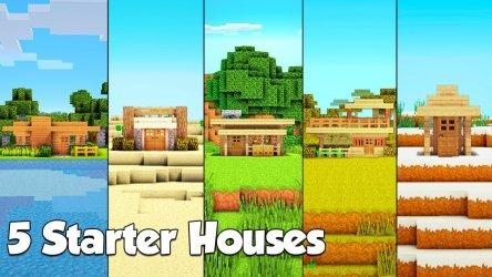 Minecraft Starter House 8