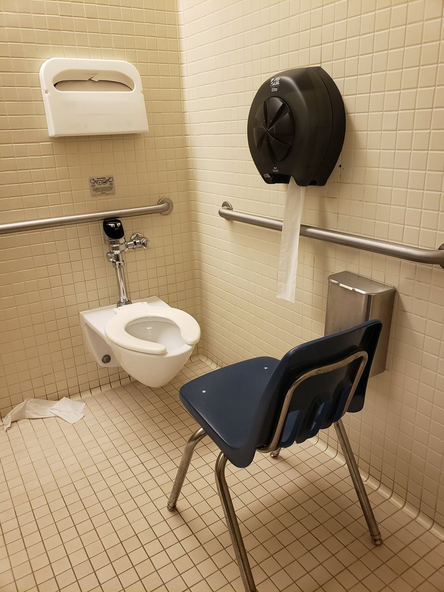 Findom Earle Ibs Rights On Twitter I Swear To God Everytime I Go Into The Bathroom Near My Office I See The Chair Like This I Move It To The Wall