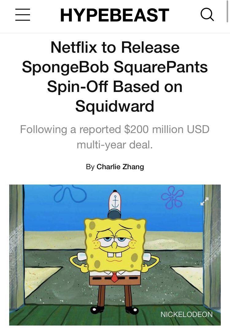 Squidward Spinoff : squidward, spinoff, SpongeBob, Facts!, Twitter:,