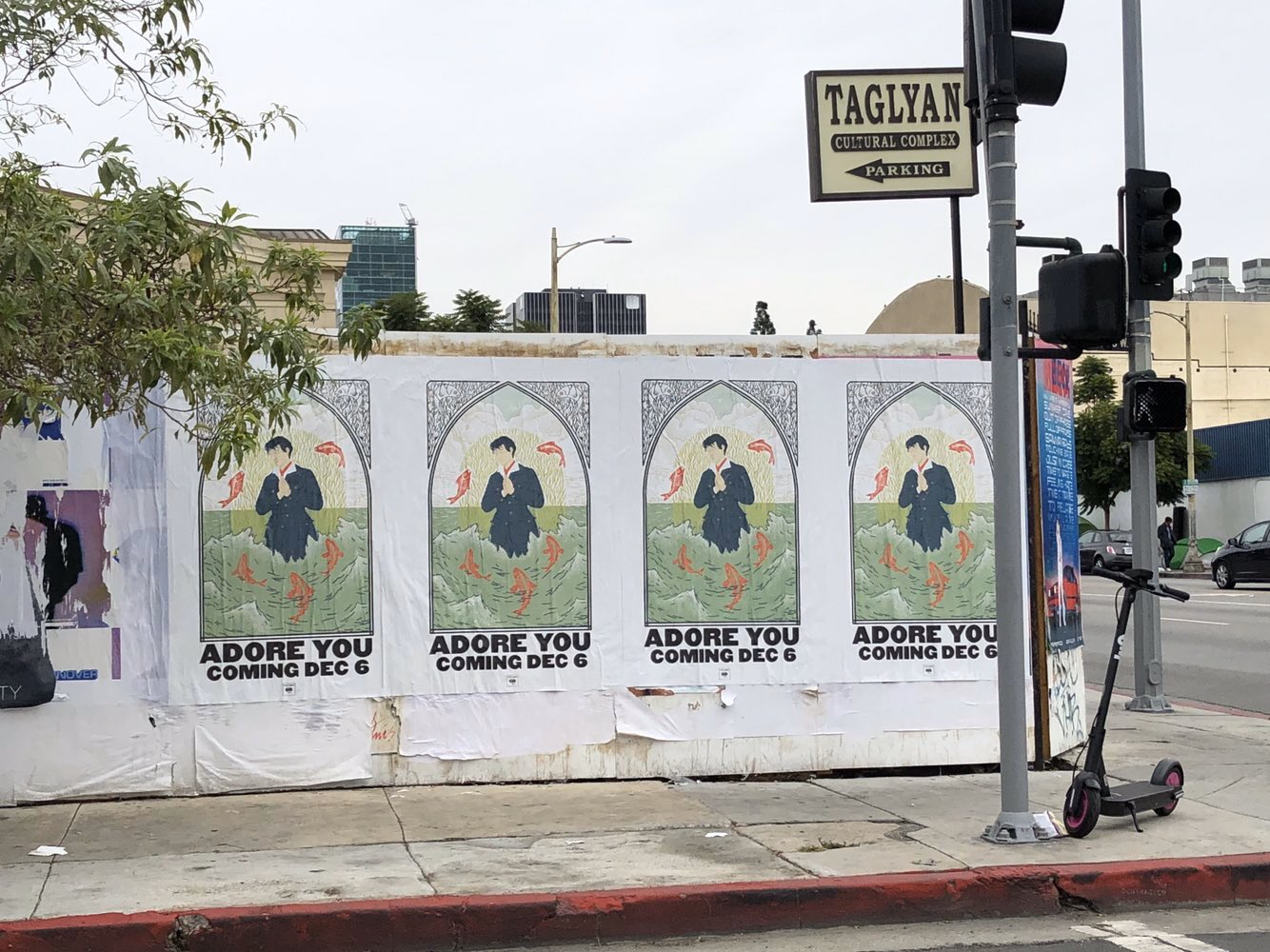 posters for adore you in los angeles
