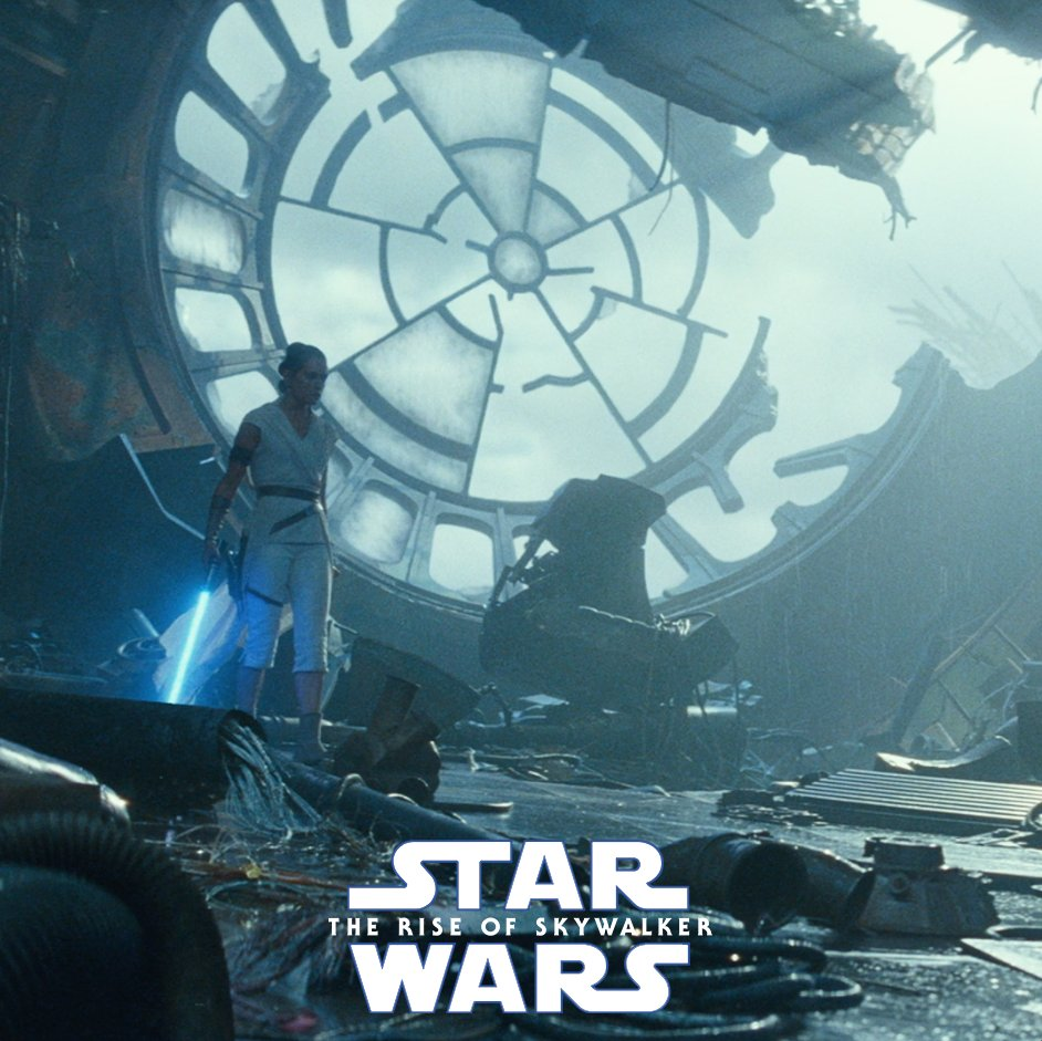 Image for the Tweet beginning: New footage from Star Wars: