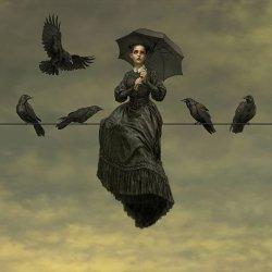 Arsenic In Shell on Twitter: 🖌 Tristan Elwell #Dark #Victorian #gothic # art