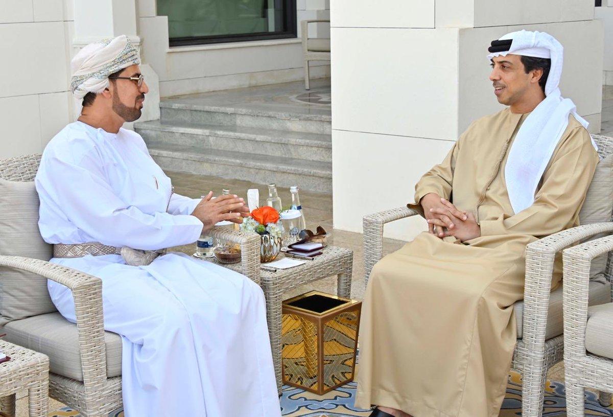 وكالة الأنباء العمانية سمو الشيخ منصور بن زايد آل نهيان نائب