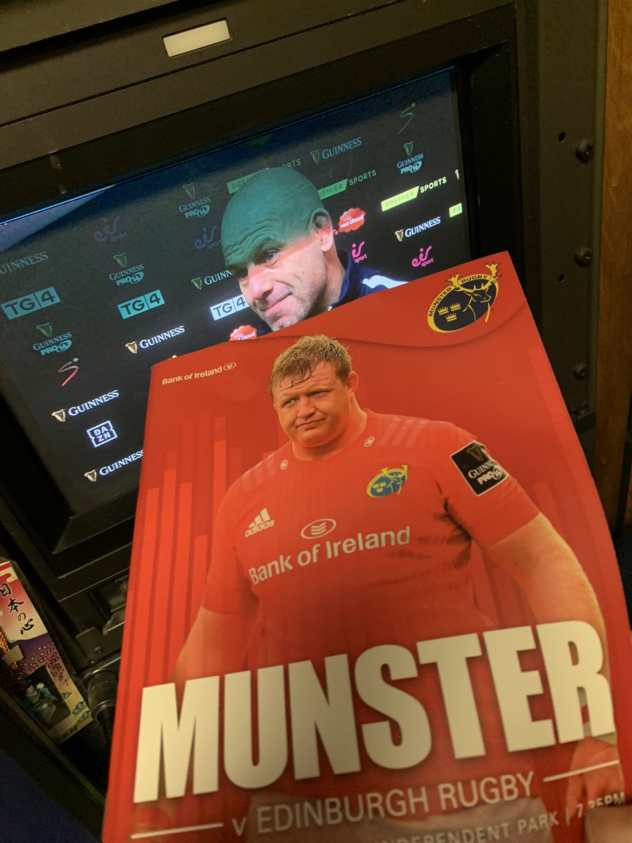 test Twitter Media - We are in Irish Independent park tonight for Eir sports, watch Munster take on Edinburgh in the Pro14. kick off here is at 19.35 https://t.co/qO1JjC0fqo