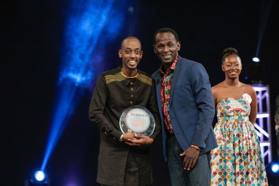 Image result for Michaël Sengazi Prix RFI Talents du rire 2019