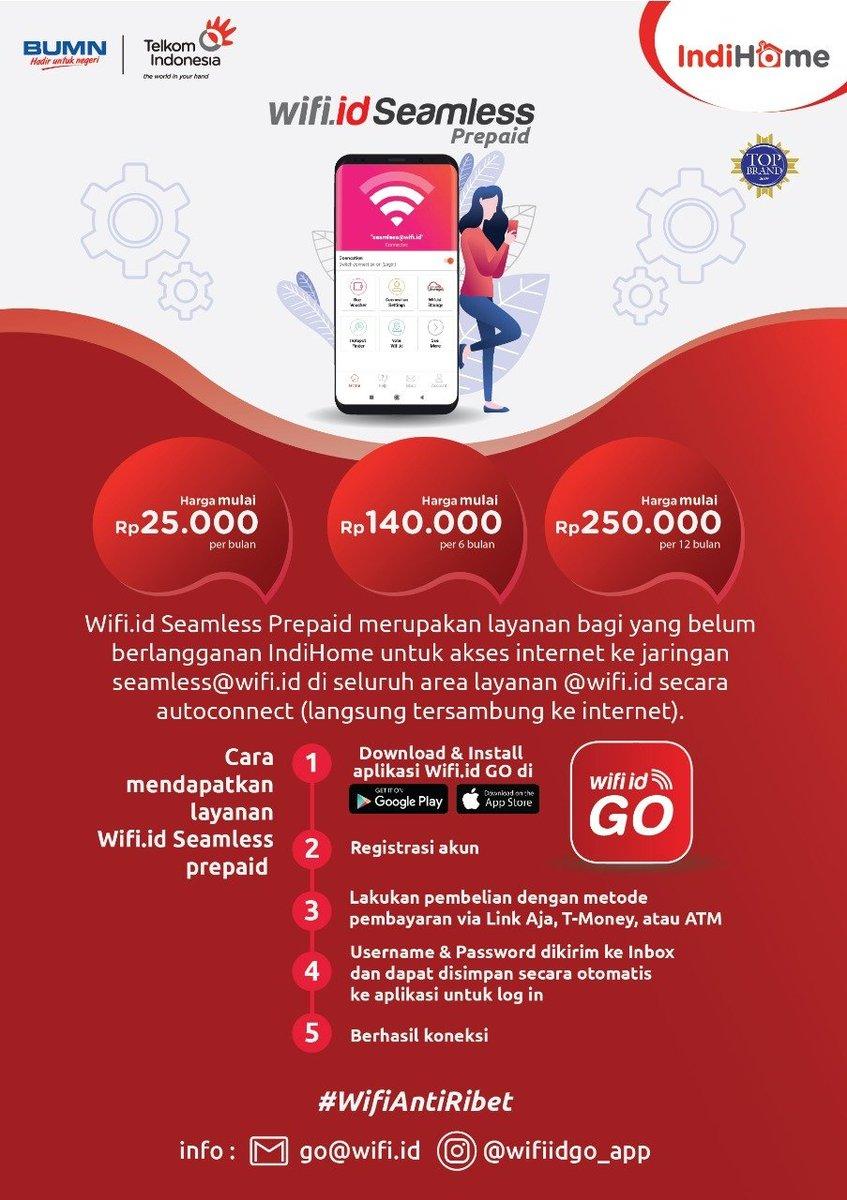 Cara Berhenti Wifi Id Seamless : berhenti, seamless, Indonesia, Twitter:,