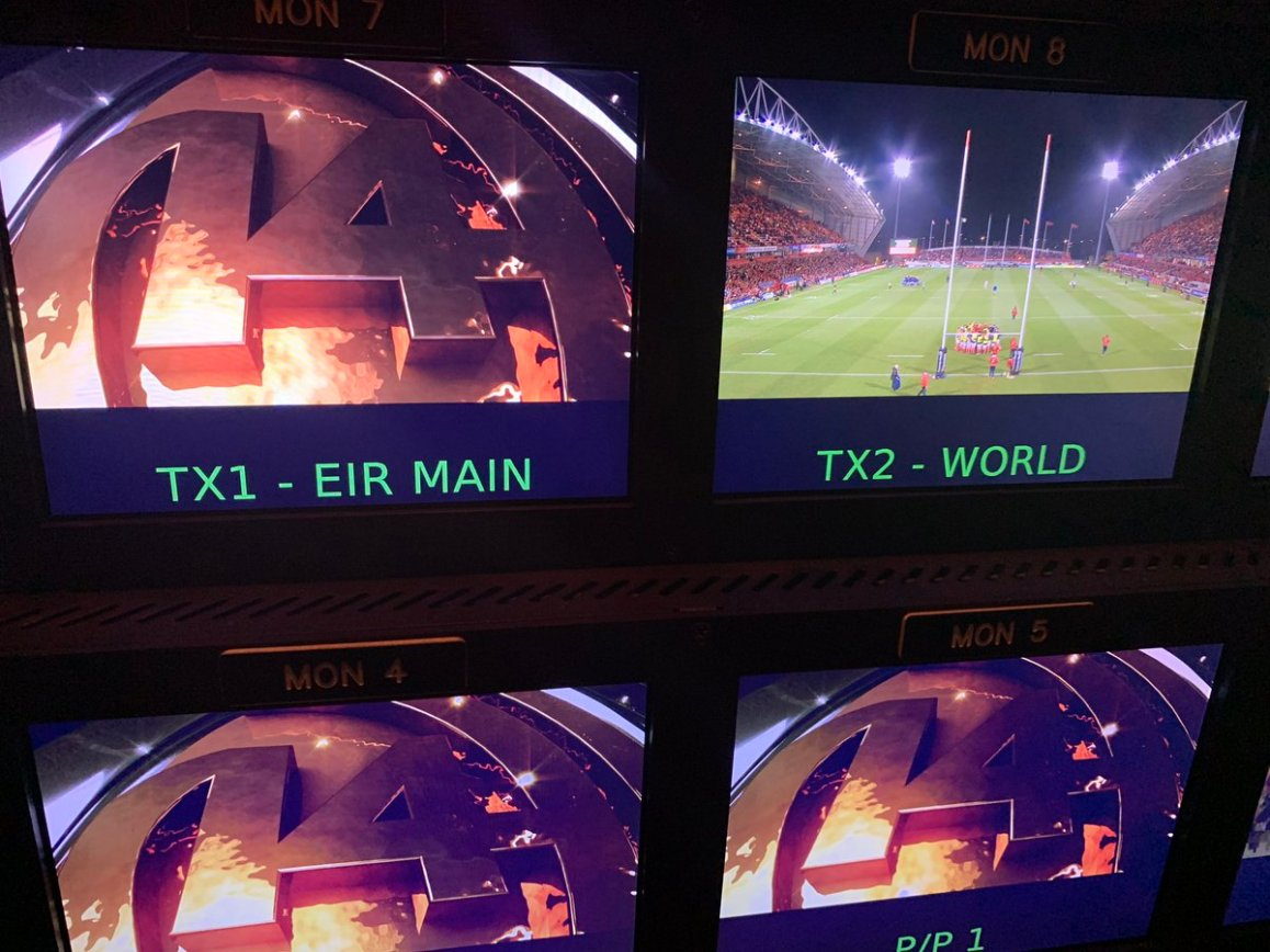 test Twitter Media - We are in Thomond Park today for Eir Sport, watch Munster take on Leinster in the Pro14. Kick off is at 18.00 https://t.co/epTh6ZMt7K