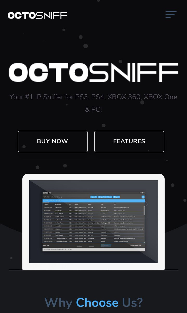 Ip Sniffer For Xbox : sniffer, PS3SERVICESUK, (@ps3servicesuk), Twitter