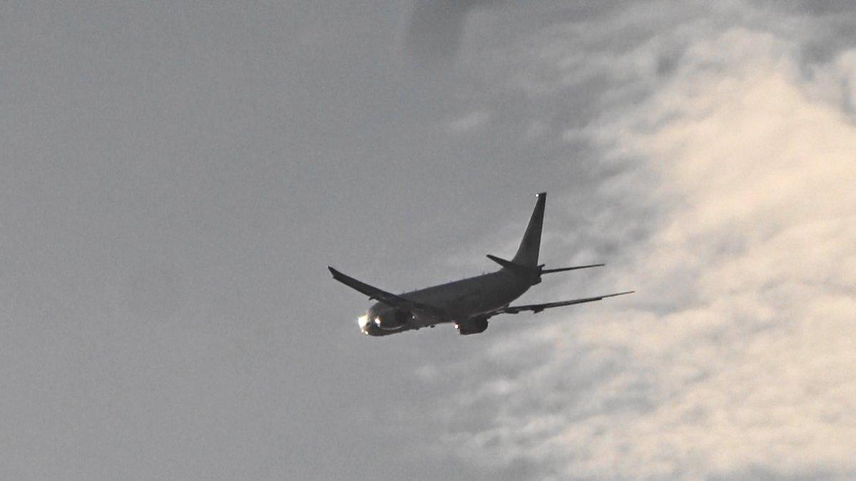 test ツイッターメディア - 沖縄市役所の真上を通過)2019年12月17日午後4時10、14、19分嘉手納米軍基地。沖縄市住民地域上空で、爆音と排気ガスを撒き散らし違反飛行を繰り返すP8。危険極まりない、生活環境破壊、人権侵害だ!米軍は沖縄から出て行け!https://t.co/cZ7L0QWvLq https://t.co/i6lz11BvtS