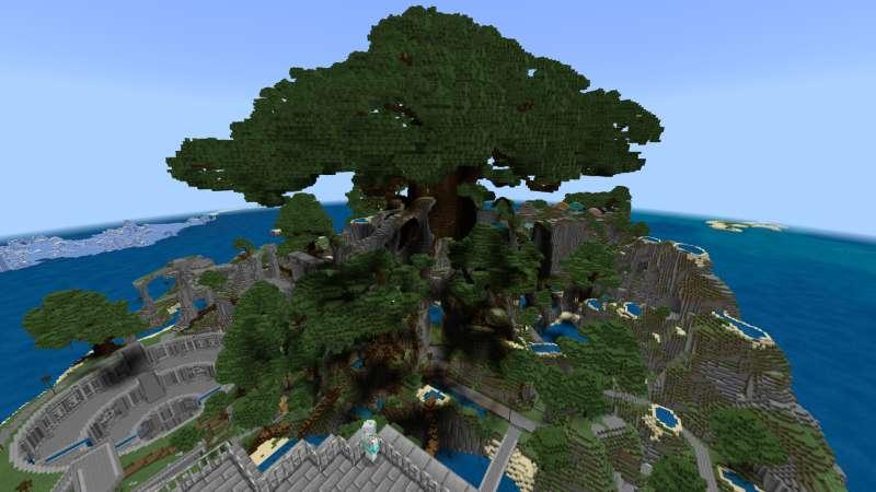 心に強く訴えるMinecraft巨大樹 - 最高のマインクラフト