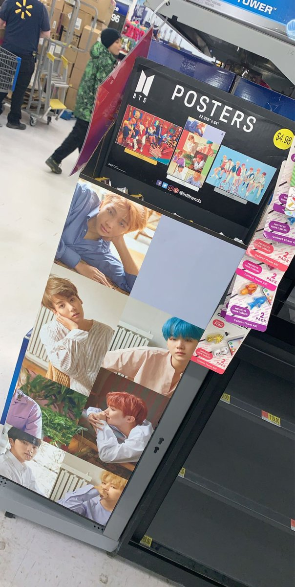 bts posters available at walmart