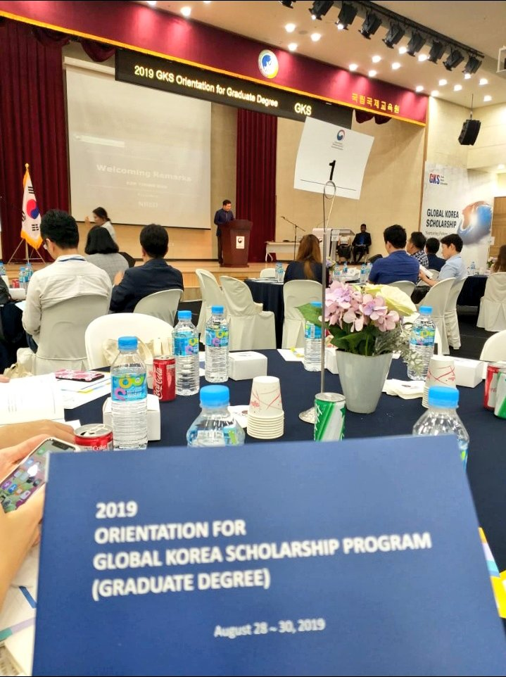 Global Korea Scholarship for Graduate Studies 2021