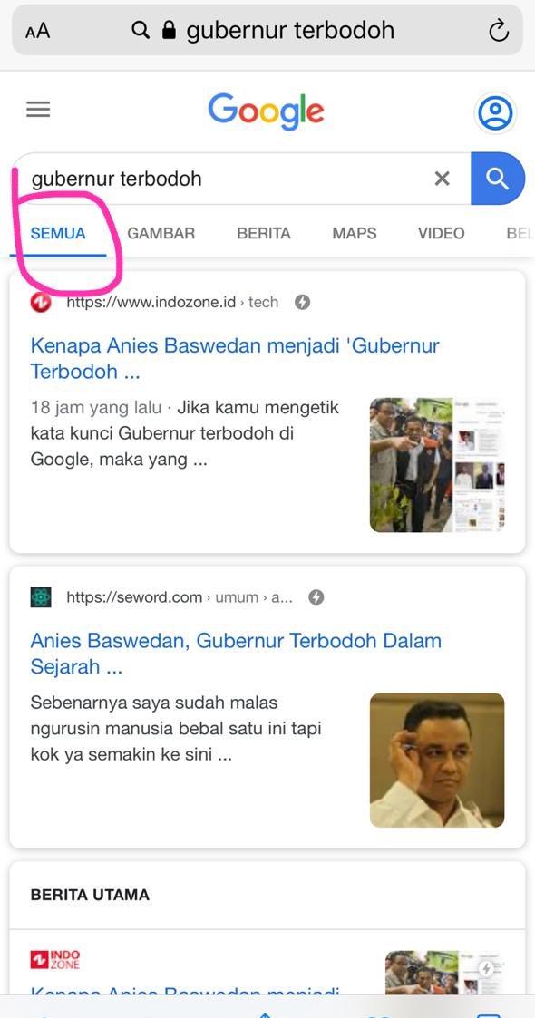 "Siapa Gubernur Terbodoh : siapa, gubernur, terbodoh, Budhyarto, Twitter:, Google, Search, Silah, Ketik, ""gubernur, Terbodoh"",, Kategorinya, Wajah, Siapa, Muncul?…"