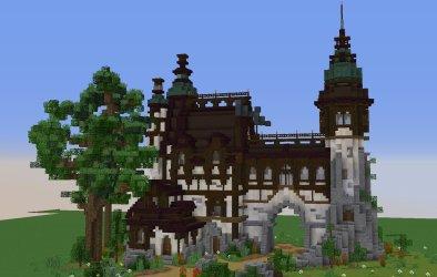 Minecraft Fantasy House 1