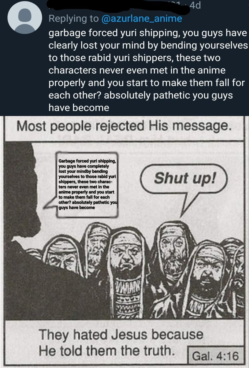They Hated Him Because He Spoke The Truth : hated, because, spoke, truth, R/AzureLane, Twitter:,