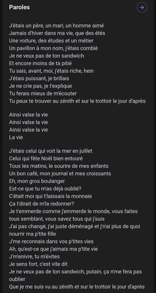 Black M Ainsi Valse La Vie : black, ainsi, valse, Twitterren:, L'avez, écouté,, Connaissez,, Franchement, Paroles, Assez, Puissantes, C'est, Ainsi, Valse, Black, Prenez