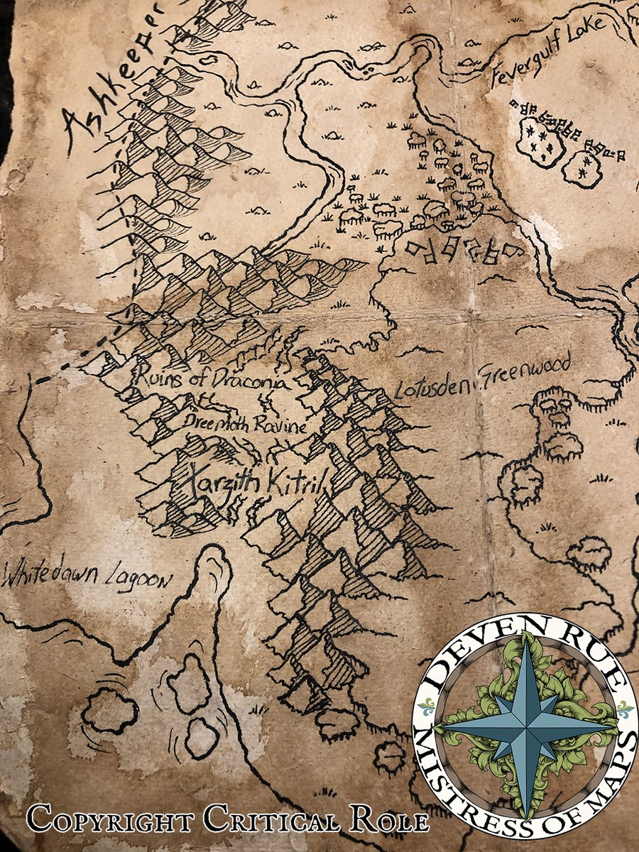 Critical Role Maps : critical, Deven, Commissions, Closed, Twitter:, Whitedawn, Lagoon, Xhorhas., #critters, #criticalrole, @CriticalRole…