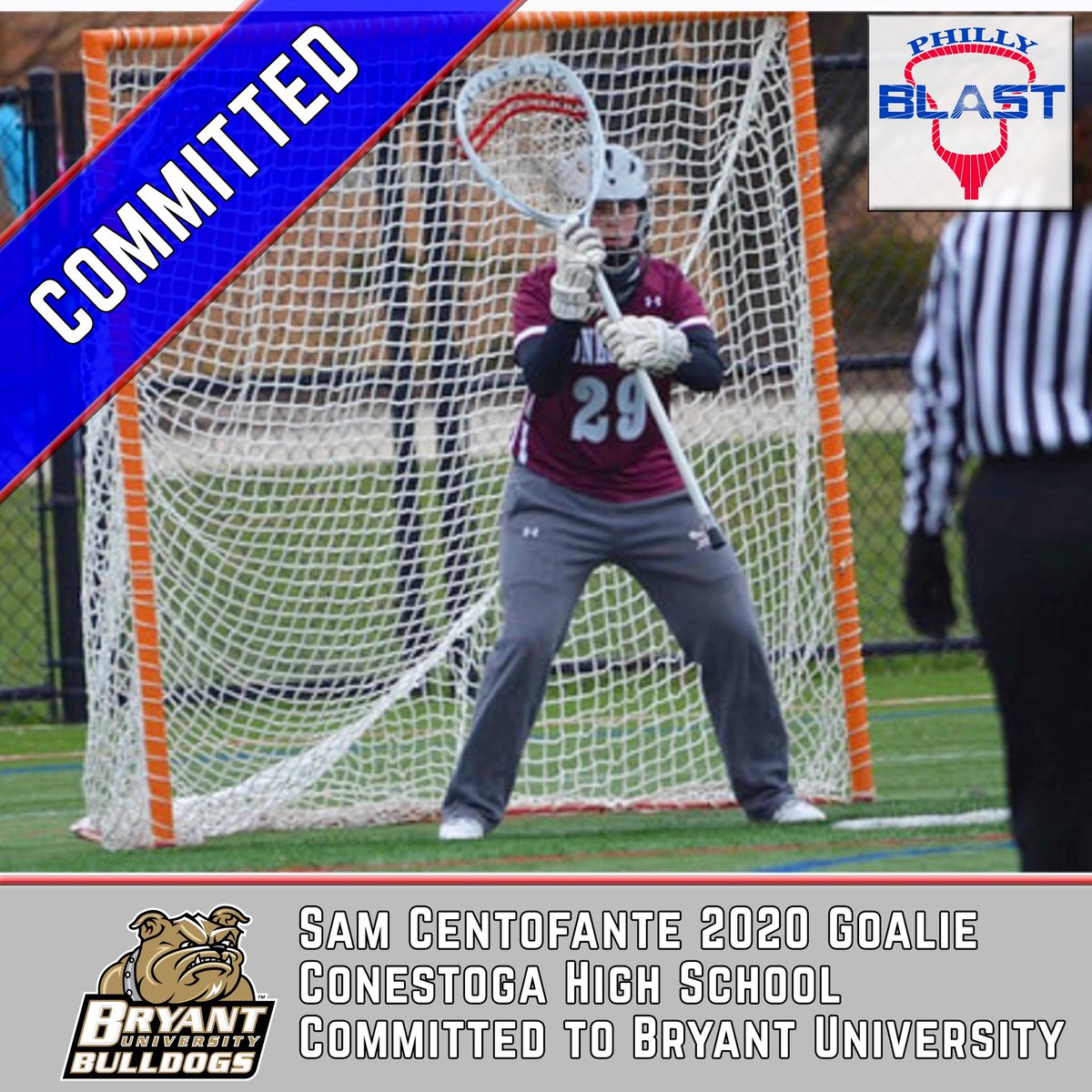 Congrats Sammy on your commitment to Bryant @BryantWLax