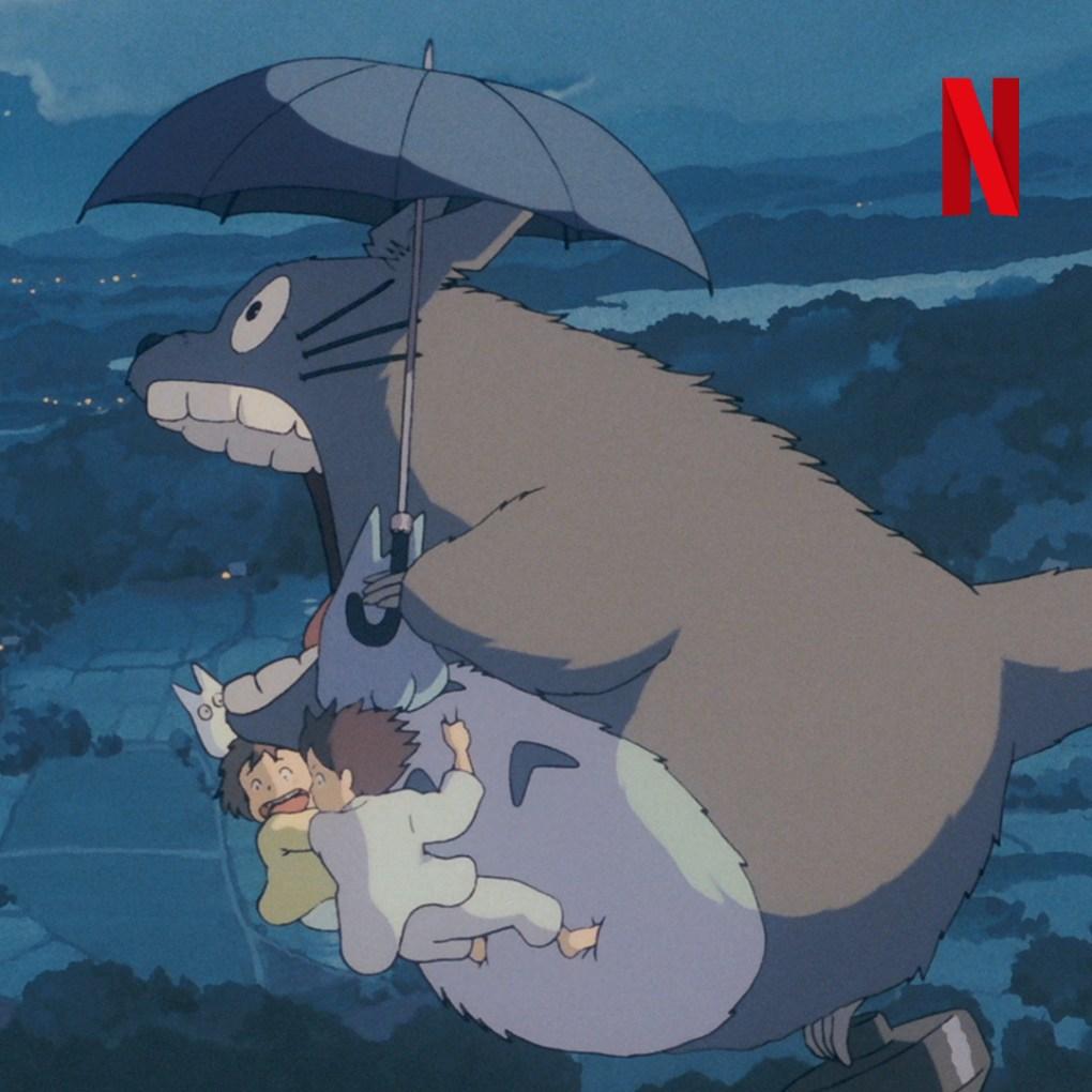 Image for the Tweet beginning: 21 Studio Ghibli films are