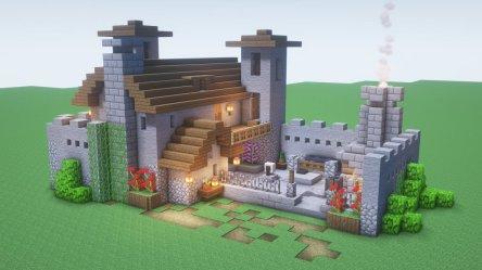 Minecraft Starter House 7