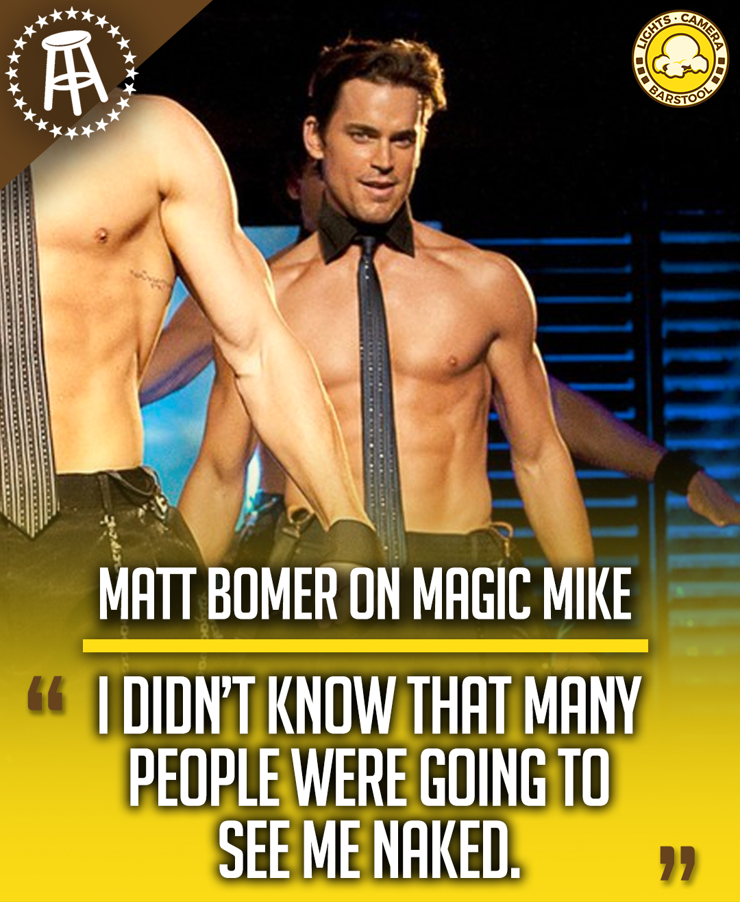 Magic Mike Streaming Vf : magic, streaming, Lights,, Camera,, Twitter:, Success, 'Magic, Mike', Great,, Making, Movie,, @MattBomer, Didn't, Realize, People, Actually, Going, It..., Interview:, Https://t.co/DpjuUp7a2E…