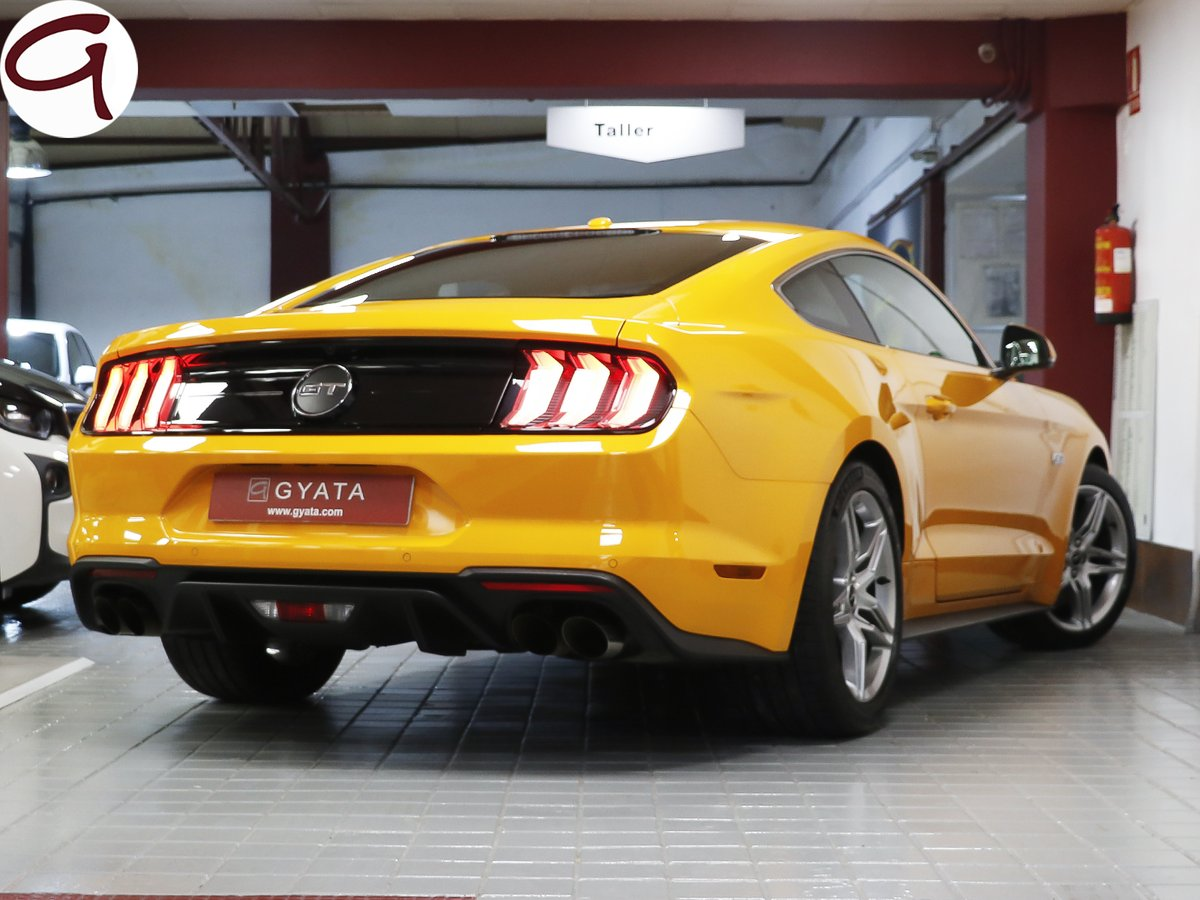 This 4951 cc engine size produces 421 horsepower with 530 nm torque. Gyata On Twitter Ford Mustang 5 0 Ti Vct V8 Gt Fastback 450cv 4 4 9 0 0 Https T Co Msbiwvayg1 Fordmustang 2019mustang Coche Car Deportivo Sportcar Fordperformance Gt Https T Co Qrncs9qfht