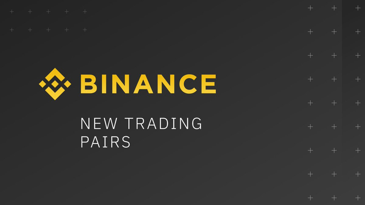 #Binance Adds $BUSD Trading Pairs for $BAT, $ENJ, $NANO, $ONT & $RVN  ... 1