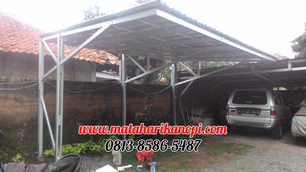 canopy baja ringan depok matahari kanopi on twitter hasil pemasangan