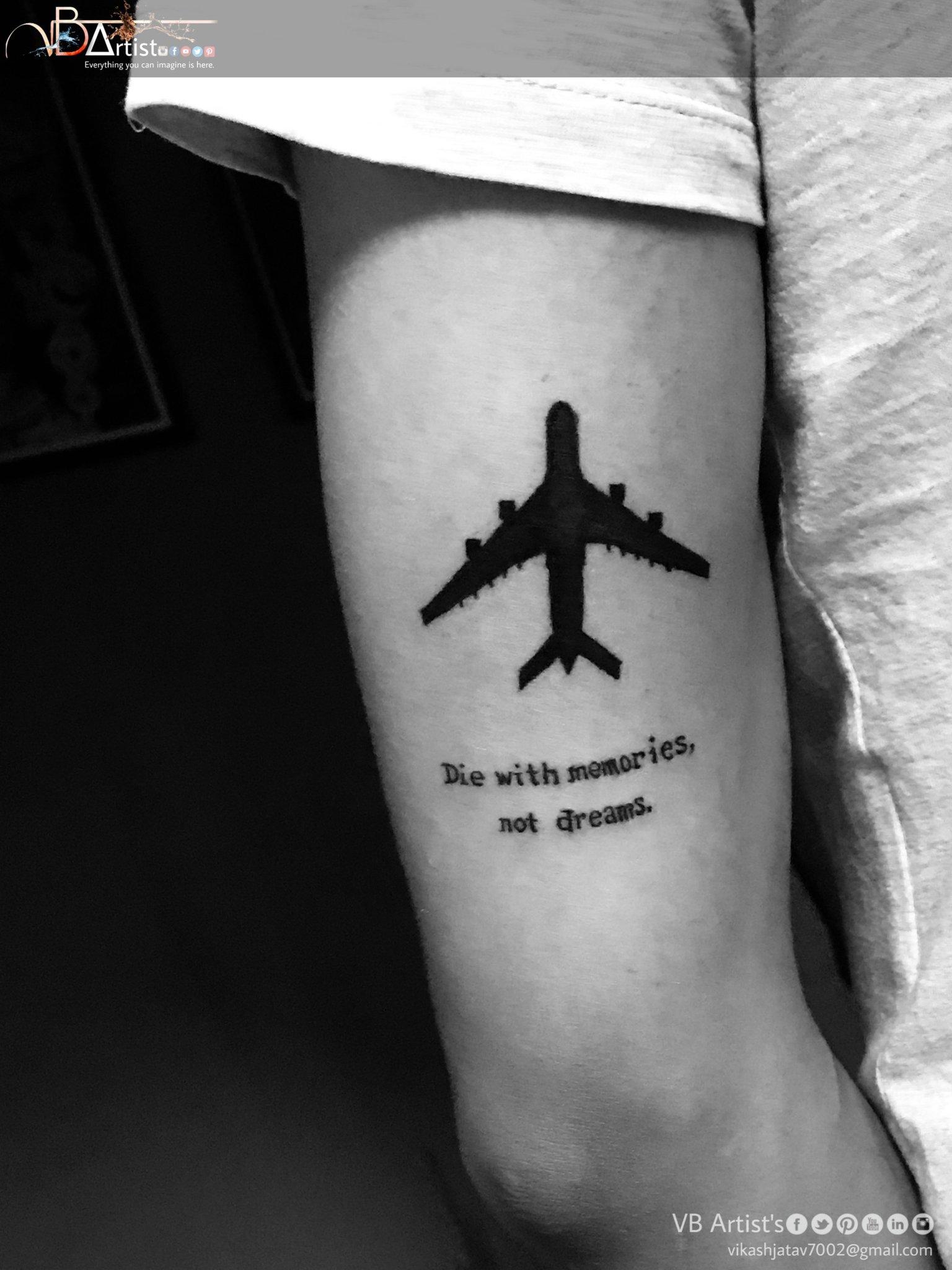 Die With Memories Not Dreams Tattoo : memories, dreams, tattoo, Artist, Twitter:,