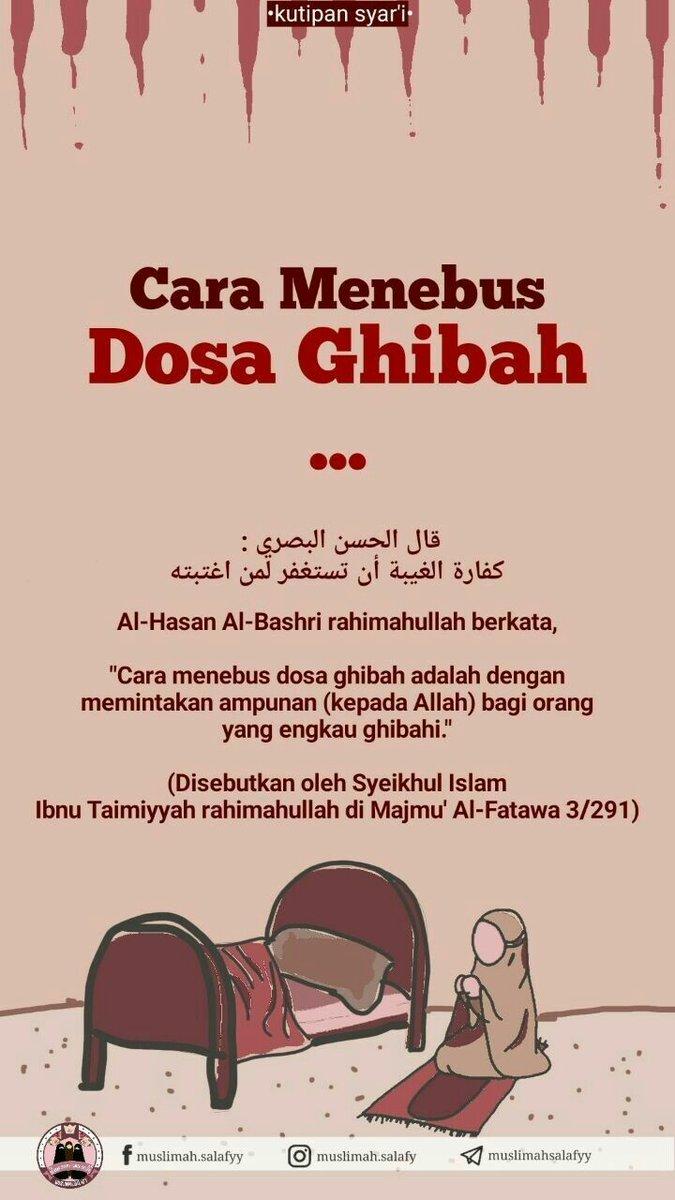 Ghibah Adalah : ghibah, adalah, Tiara, Twitter:,