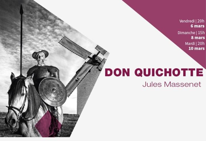 Don quichotte opéra de Tours