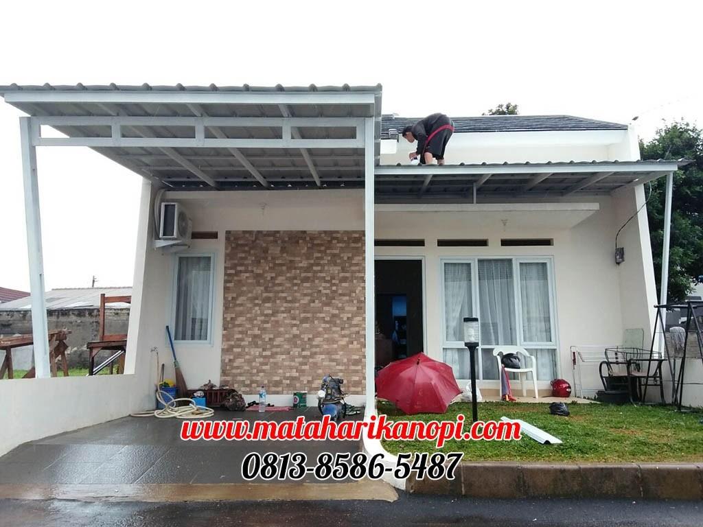 contoh kanopi baja ringan atap spandek matahari mataharikanopi twitter