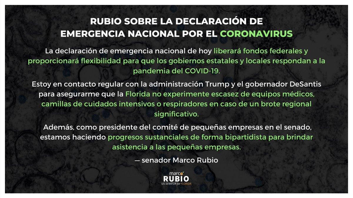 Senator Rubio Press (@SenRubioPress) | Twitter