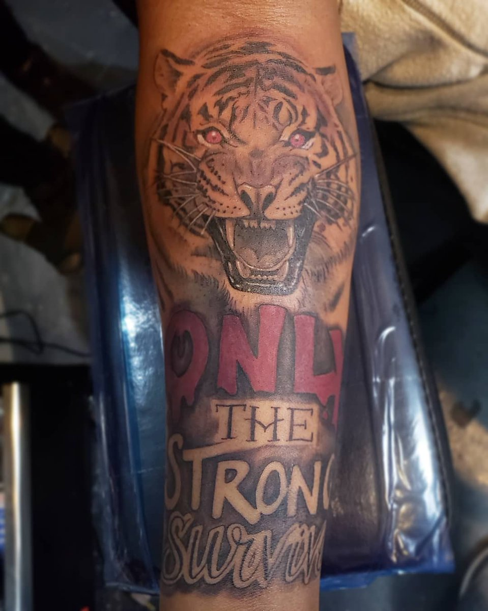 Only The Strong Survive Tattoo Lion : strong, survive, tattoo, Strong, Survive, Tattoos