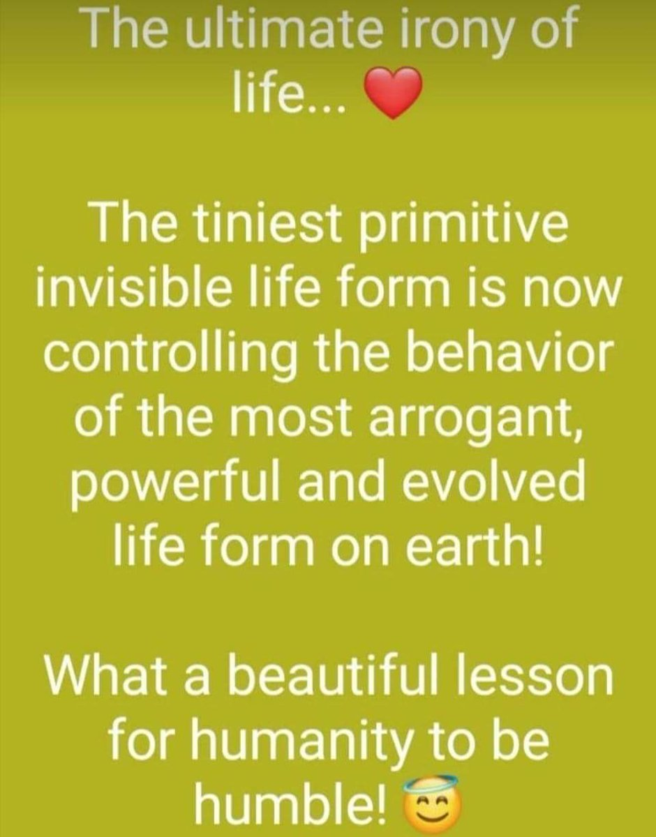 Irony Of Life : irony, Shrikant, 🇮🇳, Twitter:, Ultimate, Irony, Life.., Lesson, Humanity, Humble.., Morning, Everyone.., Ahead, 🙏…, Https://t.co/4tgs5i8UJn