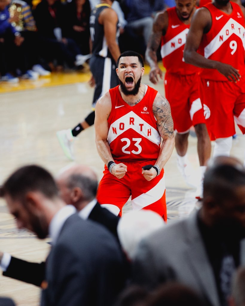 "William Lou on Twitter: ""fred. vanvleet.… """