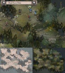 Dark Forest Battle Map 1