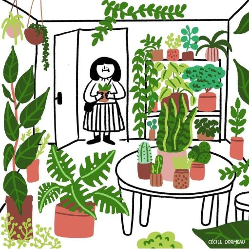 """martyna on Twitter: """"i think about this illustration by cécile dormeau a  lot… """""""
