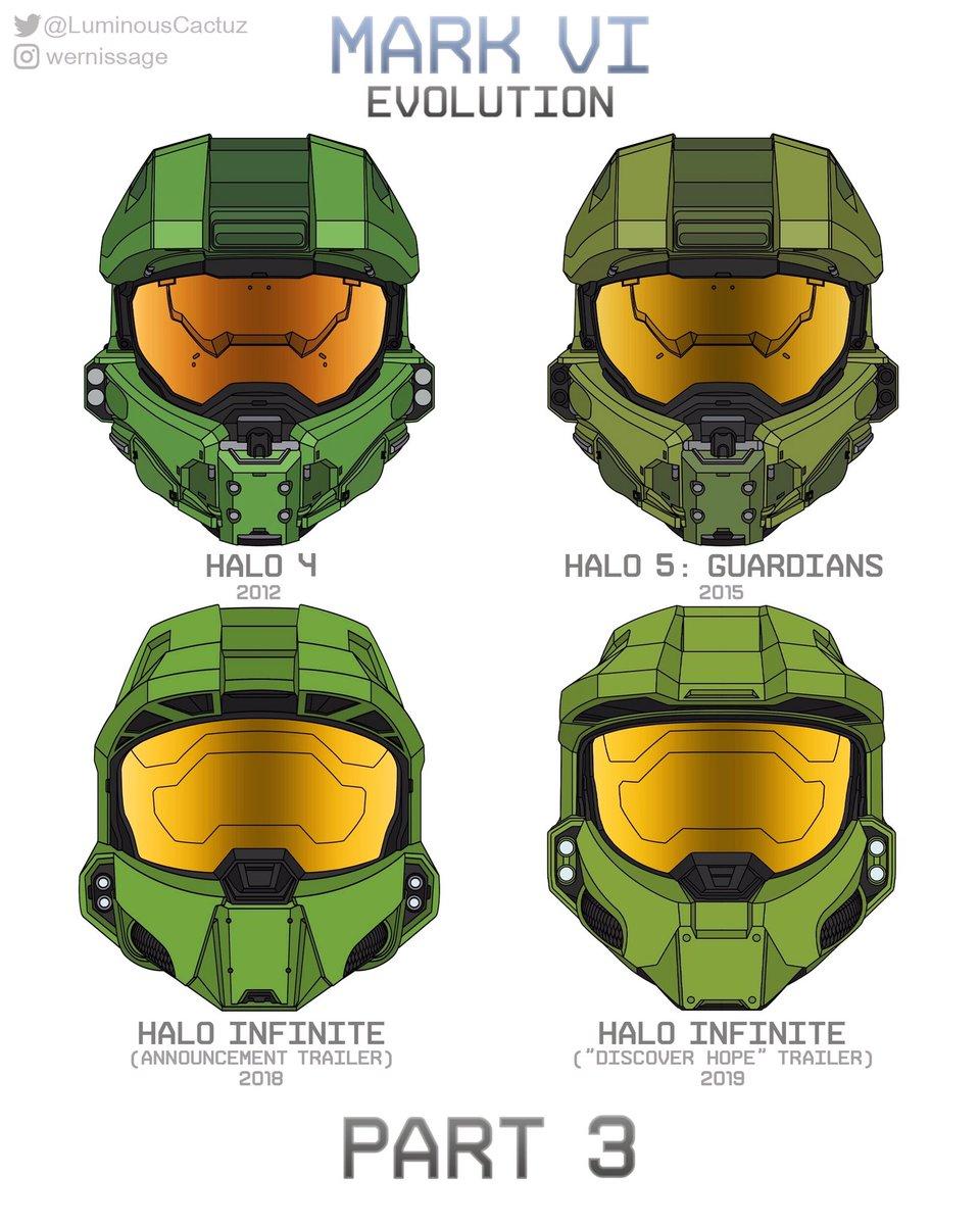 Halo 5 Master Chief Helmet : master, chief, helmet, Halo.fr, Twitter:,