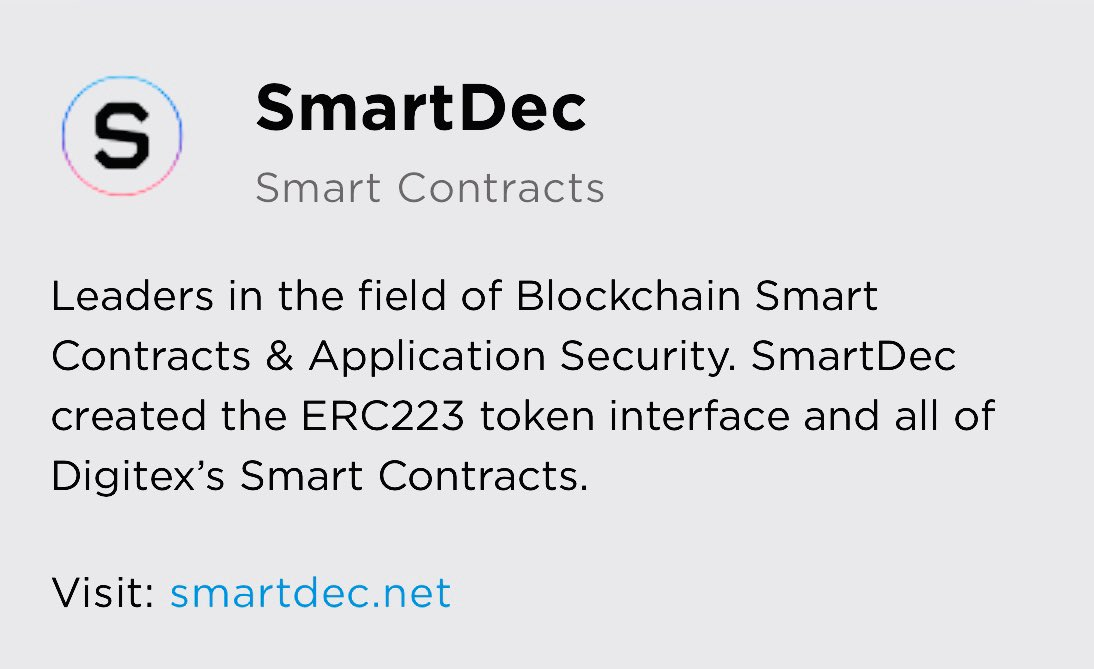 #Digitex and @SmartDecTeam April 27 will be a very big day for Digitex Futures -... 4