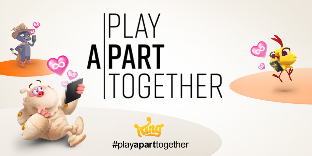 WHO #PlayApartTogether coronavirus awareness campaign