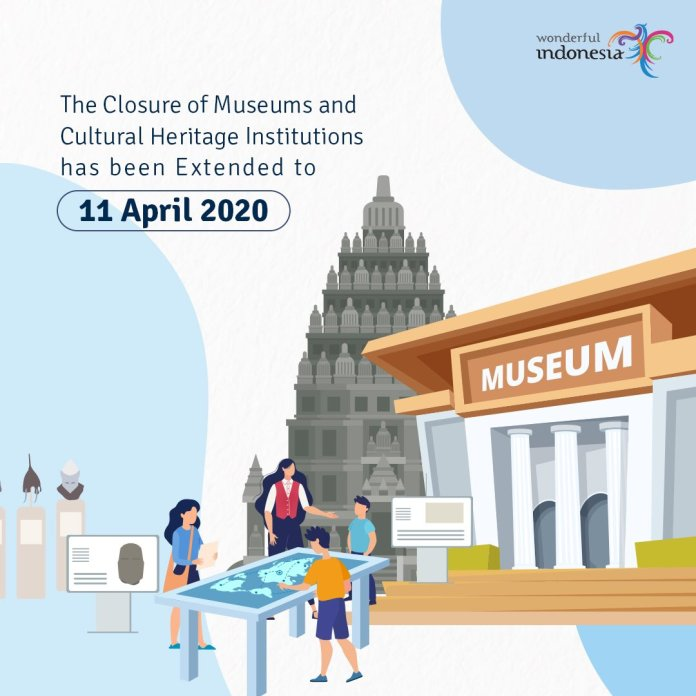 Indonesia Travel On Twitter In Order To Prevent The Spread Of Covid 19 The Temporary Closure Of Museums And Cultural Heritage Institutions Under The Directorate General Of Culture Has Been Extended To 11 April 2020