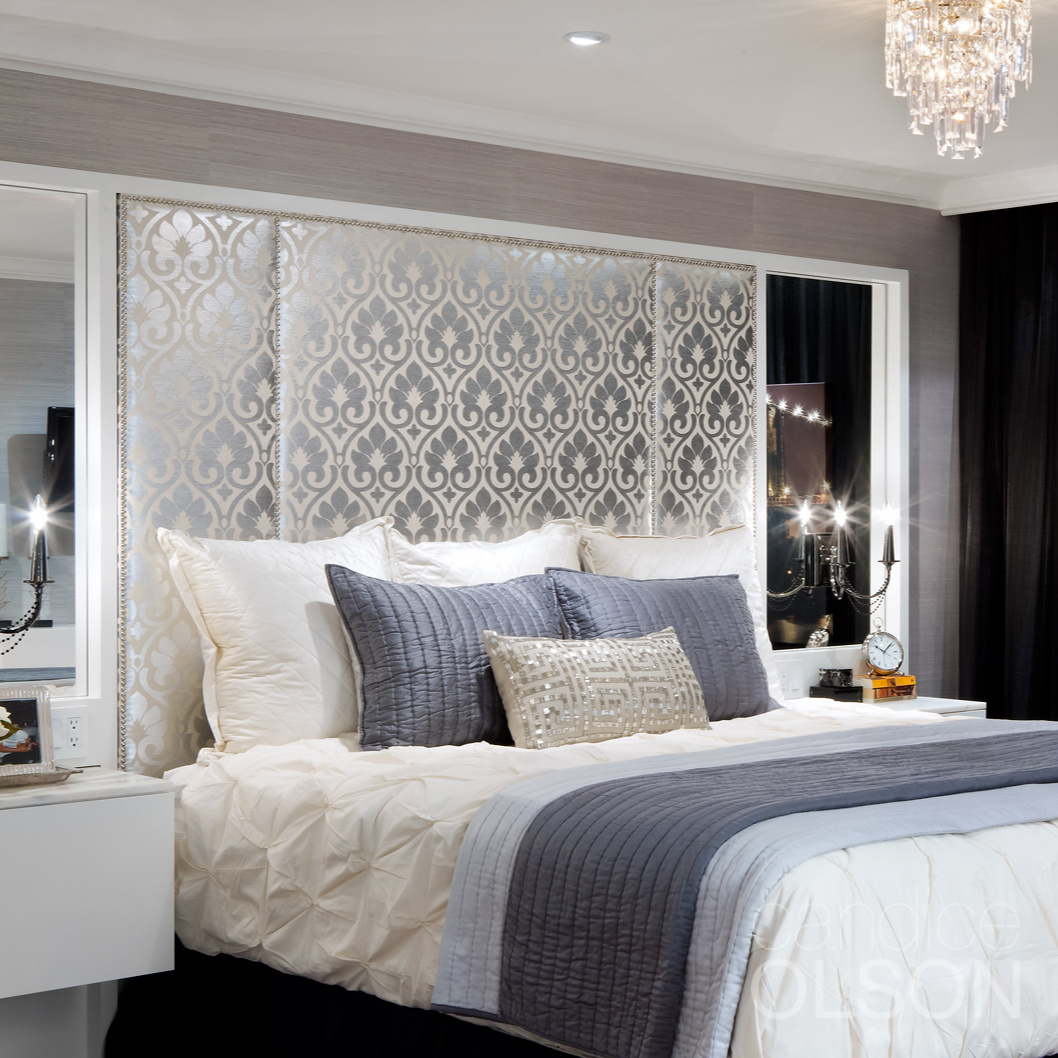 Candice Olson On Twitter The Bedroom Is At Its Best At Night So Make The Most Of Your Lighting By Enhancing The Sparkle Factor Think Mirrors Crystal Chandeliers And Metallic Accessories For