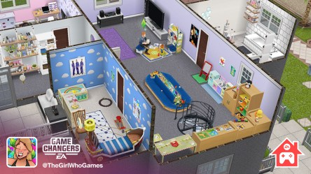The Sims FreePlay on Twitter: Need inspiration for your entries for the Stay Home Play Together competition? EA Game Changer @TheGirlWhoGames has created the perfect isolation house for her Sims! Visit our